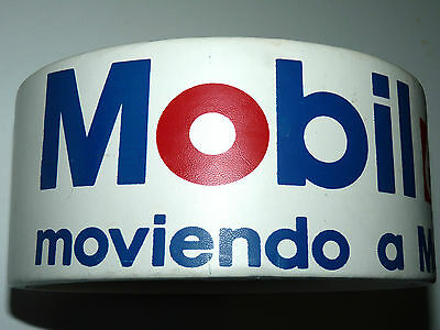 VINTAGE MOBILGAS MOBIL OIL GAS STATION ICE BUCKET MEXICO a5