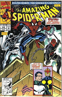 the Amazing Spider-Man Comic Book #356, Marvel 1991 NEAR MINT