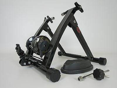 Magnetic turbo trainer with Handlebar Adjuster Indoor Bike Exercise
