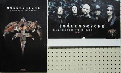 Queensryche 2011 Dedicated To Chaos 2 Sided Promotional Poster ~New~!!
