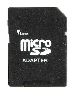 3x Micro SD TF to SD Memory Card Adapter 1G/2G/4G/8GB