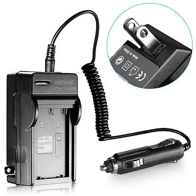 Battery Charger+Car Adapter for Sony NP-FS11 FS21 FS31