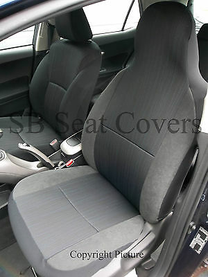 Land Rover Discovery Car Seat Covers Yaro Cloth Fabric- 2 Fronts