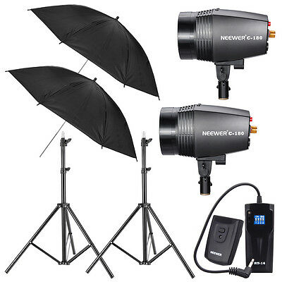 Neewer 360W STUDIO FLASH LIGHT KIT PHOTOGRAPHY  LIGHTING SET