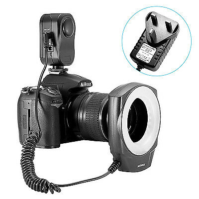 Neewer Continuous Powerful LED Light Macro Ring-48 for Canon Nikon Sigma Lens