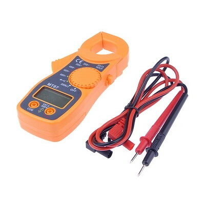 New Portable AC DC Voltage LCD DIGITAL Clamp Multimeter Electronic Tester Meter