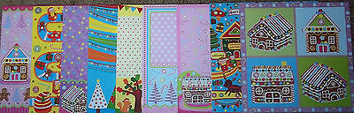 """Bright & Colourful Christmas Papers x 9    *30cm x 30cm (12"""" x 12"""")"""