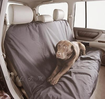 HEAVY WEIGHT Car Back Rear Seat Heavy Duty Cover Protector Nylon large Dog pet