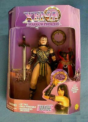 Rare 10 Inch Xena Warrior Princess Doll Deluxe Edition Action Figure