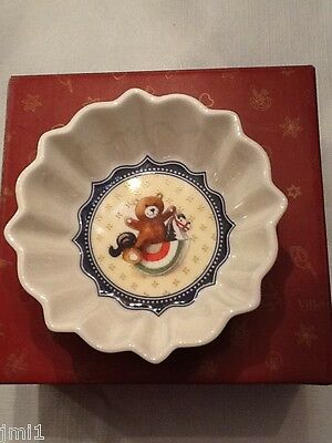 Villeroy & Boch TOY'S FANTASY Small Candy Bowl, Bear on Horse # 3805