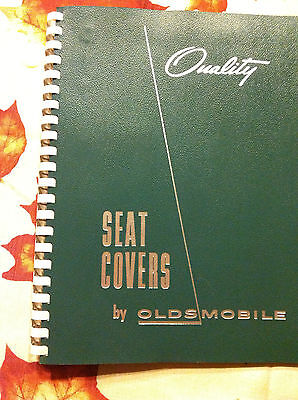 Quality Seat Covers by Oldsmobile VINTAGE catalog with fabric samples