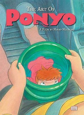 The Art of Ponyo by Hayao Miyazaki Hardcover Book (English)
