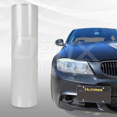 "Protection Clear Bra Vinyl Sheet Bumper Headlight Hood 12"" x 48"" - Saturn & Saab"