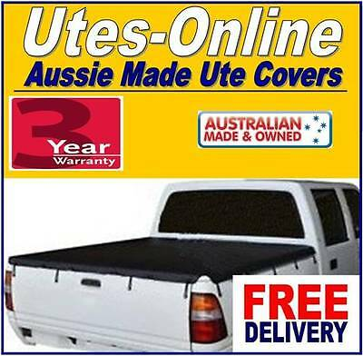 Holden Rodeo Dual Cab Ute 1997 To 2002 Tonneau Cover Tarp