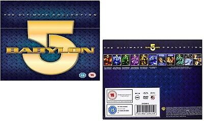 BABYLON 5 (1994-2007) COMPLETE + CRUSADE + MOVIES + LOST TALES - Reg2 DVD not US