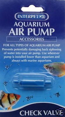 Interpet Aquarium Air Pump Check Valve 0755349025657