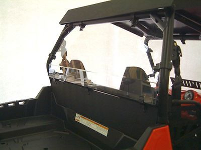 New Polaris Rzr Xp 900 2012 - 2014 Rear Window Shield Back Panel Combo