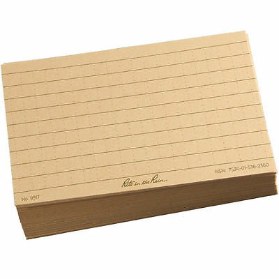 Rite in the Rain All-Weather Index Cards Tan #991T