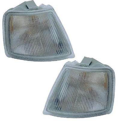 Vauxhall Cavalier Mk3 1988-1992 Clear Front Indicator Pair Left & Right