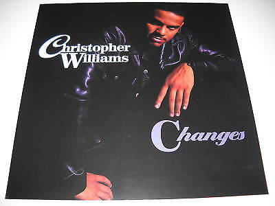 CHRISTOPHER WILLIAMS 2-sided PROMO IMAGE FLAT Changes