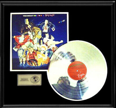 Sex Pistols Great Rock And Roll Swindle Gold Record Platinum  Disc Lp