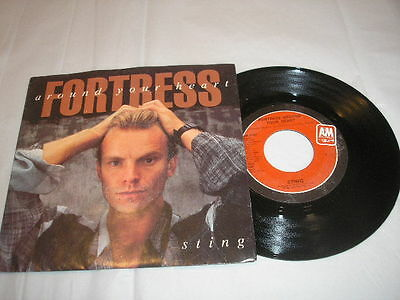 1985 Sting Fortress Around Your Heart / Consider Me Gone A&M AM-2767 NM Vinyl PS