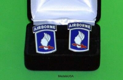 USS Independence US NAVY Cuff Links in Presentation Gift Box -USN cufflinks