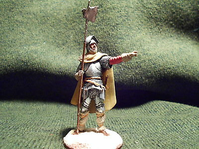 Painted warrior Knight Metal 54mm