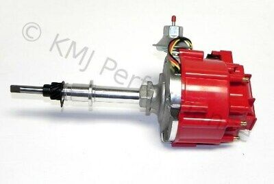 New Chevy Inline 6 Cylinder Ready To Run One Wire HEI  Distributor 250 292 Red