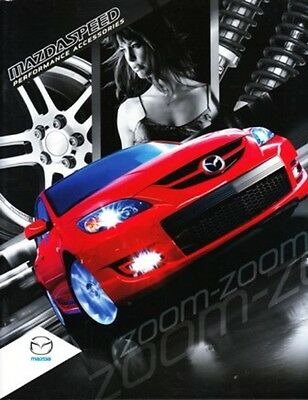 2009 09 Mazda Mazdaspeed Performance Accessories Original sales brochure