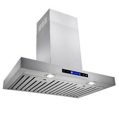 """30"""" Stainless Steel Wall Mount Powerful Range Hood Kitchen Stove Vents"""