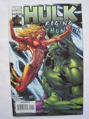 "HULK :""RAGING THUNDER"" GIANT SIZE ONE-SHOT 1 by PARKER & BREITWEISER.MARVEL.2008"