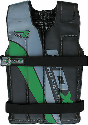 RDX Pro Removable Weighted Jacket 8,10,12,14 Kg Weight Vest Loss Gym Running G