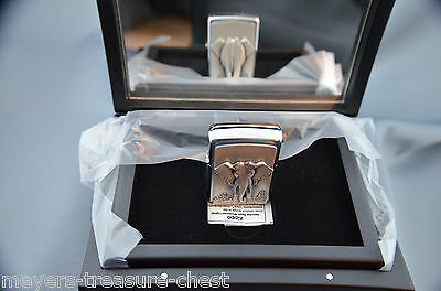 awesome ZIPPO Elephant on stage mirror special stage editon - luxury collection