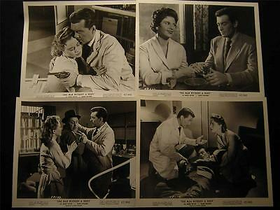 50s Robert Hutton The Man Without A Body VINTAGE 4 MOVIE PHOTO LOT 520Q