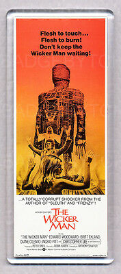 THE WICKER MAN movie poster LARGE 'WIDE' FRIDGE MAGNET - CLASSIC !