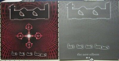 "TOOL 2001 ""lateralus"" 2 sided promotional poster/flat ~NEW old stock~!"