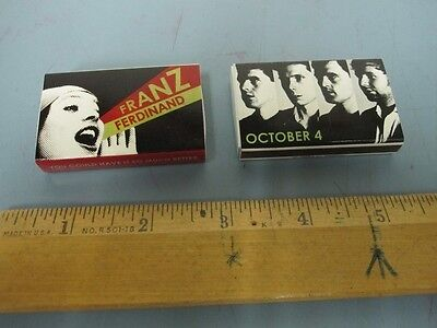 FRANZ FERDINAND 2005 you could have it so much better promo MATCHES ~NEW~!!