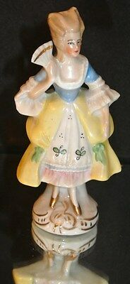 """Vintage 5"""" Victorian Lady Figurine 17529 made in Germany"""