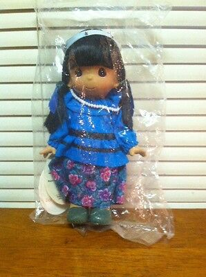 """Precious Moments Doll 7.5""""  Seven Little Indian #1686; Free US Shipping!"""