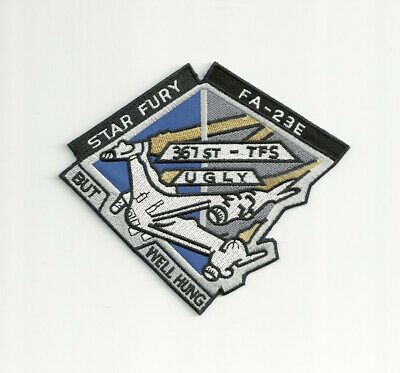 Babylon 5 TV Series Star Fury FA-23E Logo Embroidered Patch NEW UNUSED
