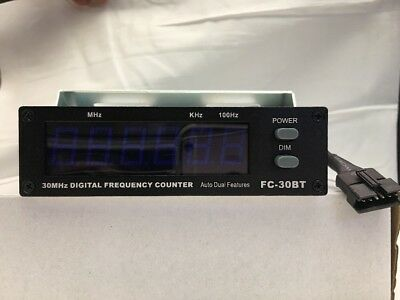 New Frequency Counter .5MHz-50MHz 12 volt for vehicle Blue lites