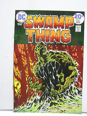 Vintage Swamp Thing #9 DC Comic Book-Hi Grade 1970s (L8996)