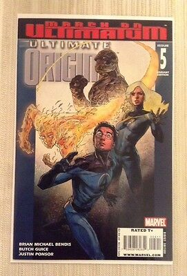 Ultimate Origins # 5 Variant NM+ 9.6 or Better