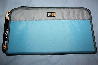 Case Logic New Quality 48 CD DVD Turquoise Storage Wallet