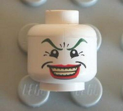 LEGO - Minifig, Head Male Wide Smile w/ Red Lips, Crow's Feet (The Joker)