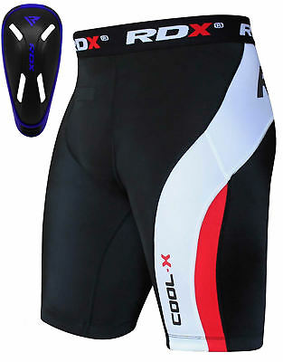RDX Thermique Court Compression Fitness Cuissard Coquille Cuisse Cours Running