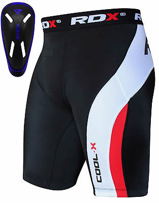 RDX Thermique Short De Compression Fitness Gym Cuissard Coquille Cuisse Running