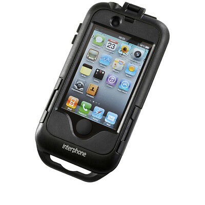 Interphone Iphone 4 Motorcycle Motorbike Hardcase Carrier Holder Waterproof