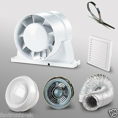 Extractor fans heating cooling air home furniture diy for 4 bathroom extractor fan